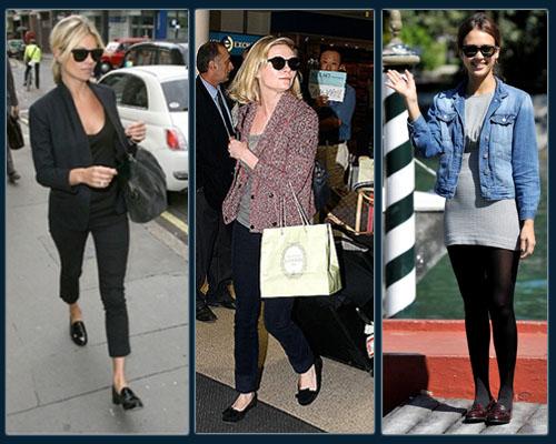 Kate Moss, Kirsten Dunst, Jessica Alba