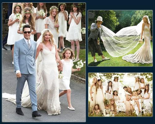 Kate Moss &  Jamie Hince Wedding