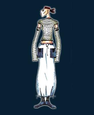 Рис. 6 Симметрия в костюме.