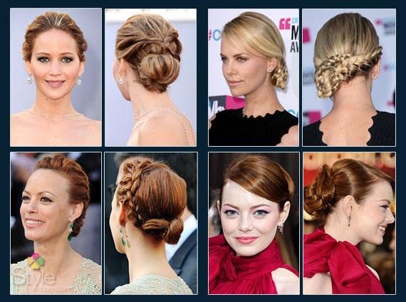 Jennifer Lawrence; Charlize Theron; Berenice Bejo;Emma Stone