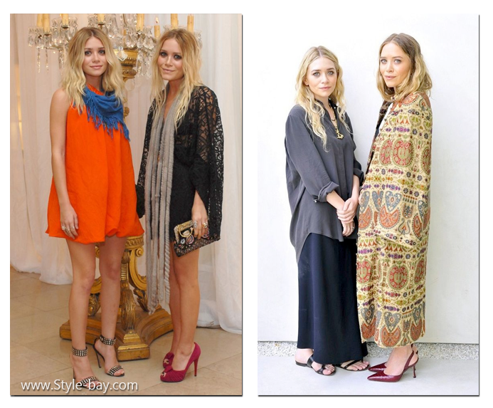 Mary-Kate Olsen and Ashley Olsen boho style 1