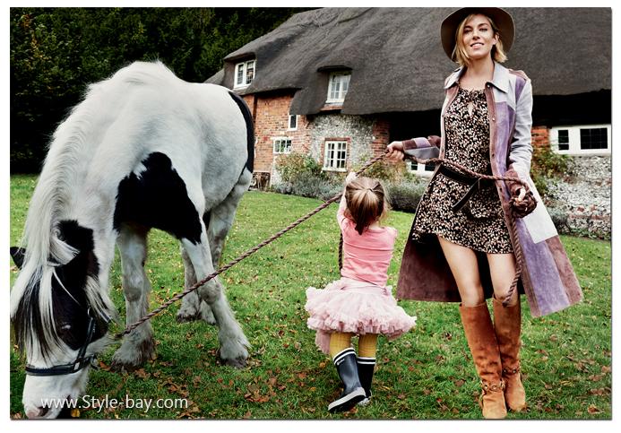 Sienna Miller boho style Vogue